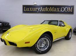 1976 corvette yellow 1976 used chevrolet corvette stingray at luxury automax serving