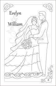 personalized wedding coloring book zoom kids wedding coloring