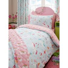 Junior Bed Sets Uk Magical Unicorn Single Duvet Cover And Pillowcase Set Single