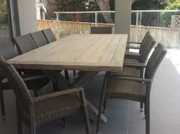 Teak Outdoor Dining Table And Chairs Whitewash Teak Outdoor Furniture How To Whitewash Outdoor