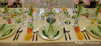 Easter Decorating Ideas Table Setting by Decorate A Easter Spring Party Table Gustitosmios
