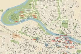 Zaragoza Spain Map by Audio Guide Of Zaragoza