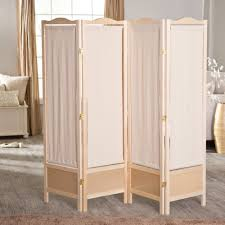 Room Divider Panel by Amazon Com Brooks Canvas 4 Panel Room Divider Natural Kitchen