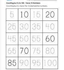 counting by 5s to 100 a wellspring of worksheets