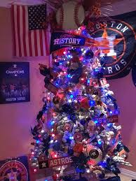 themed christmas decor home run fans astros themed christmas decorations