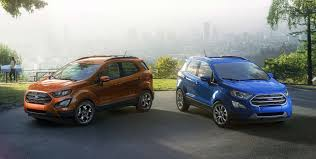 ford ecosport old vs new model price specification feature