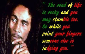 bob marley the road of quote