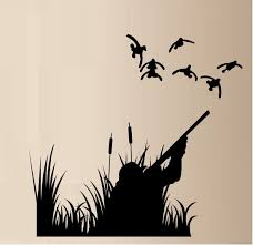 Ducks Unlimited Home Decor Amazon Com Duck Hunting Ducks Outdoor Vinyl Wall Decal Sticker