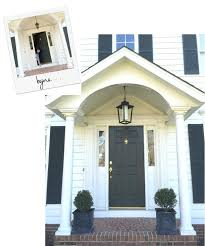 colonial house outdoor lighting updating our outdoor lighting black lantern lantern pendant and