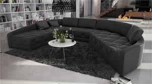 canapé grand angle grand canapé d angle moderne et original en u roi 2 699 00