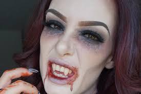 spirit halloween vampire fangs vampire halloween makeup 2015 youtube