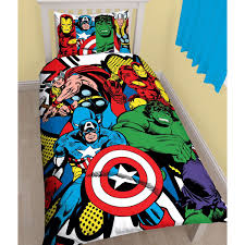 marvel duvet cover sets single double king comics avengers
