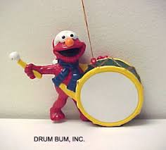 drum bum miscell elmo bass drum ornament
