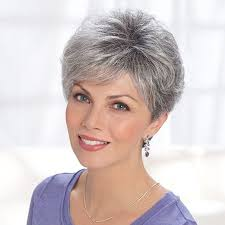 cancer society wigs with hair look for image result for salt and pepper hair women hairstyles