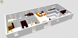 plan de maison 100m2 3 chambres plan maison 3 chambres 3d