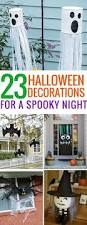 Halloween Decor Home by Best 20 Homemade Halloween Decorations Ideas On Pinterest