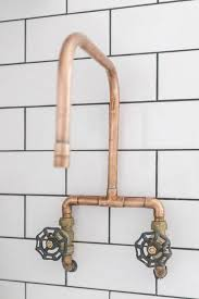 copper faucets kitchen diy copper faucet diy project