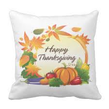 happy thanksgiving pillows decorative throw pillows zazzle