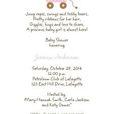 baby shower invitation wording ideas dancemomsinfo com