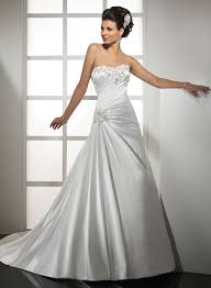 tied tightly with gorgeous strapless wedding dresses fashion corner