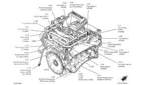 2004 ford f150 5 4 triton location of the coolant temperature sensor engine mechanical