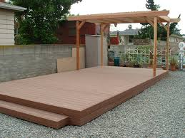 inspiration ideas this open deck leads to a large patio area with