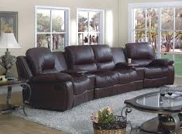 lorcan black leather recliner sectional southern motion leather