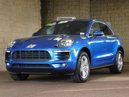 porsche macan 2015 for sale blue porsche macan in california for sale used cars on