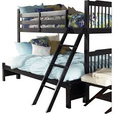 Linon Bunk Bed Bathroom Beds Wooden Unfinished Bunk Bed With Loft