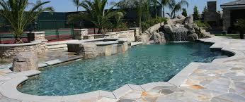 Backyard Pool With Slide - lara pools and spas southern california swimming pool builder