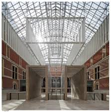 the new rijksmuseum atrium bathing in sunlight renovation