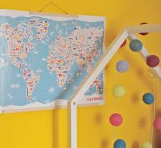 poster für kinderzimmer vianina vianina weltkarte poster fürs kinderzimmer