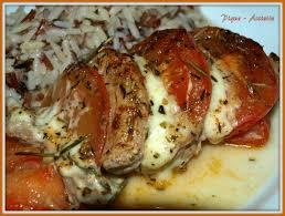 cuisiner du filet mignon de porc gratin a la caprese au filet mignon de porc pique assiette