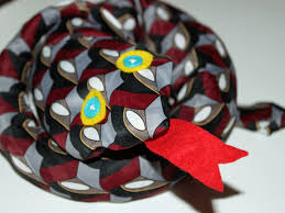 how to turn an old necktie into a toy snake inhabitots