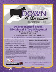 iowa exhibitors new thanksgiving show option in eastern iowa at