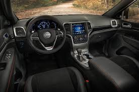 jeep grand cherokee interior 2013 2017 jeep grand cherokee trailhawk review first drive