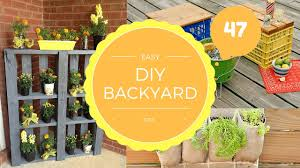 47 diy cheap and easy backyard decorating ideas youtube