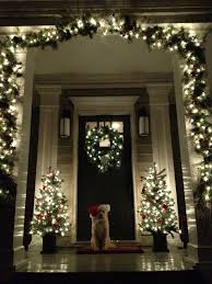 Homes Decorated For Christmas Outside Doors Front Door Pictures Kerala Model For And Christmas