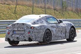 lexus lc toyota supra toyota supra leaves its bmw showing in new spy shots autoguide