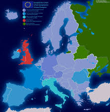 Language Map Of Europe by Maps And Tables 2 Maps Of A Future Eu