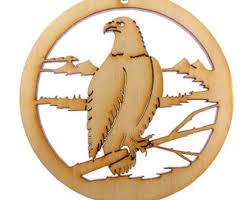 eagle ornament etsy
