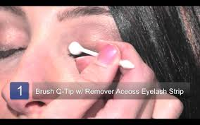 how to remove eyelash extensions youtube