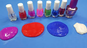 diy slime how to make slime with nail polish and baby shampoo