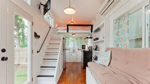 Tiny Home Interiors Interior View From Kitchen The Alpha Tiny - Tiny home interiors