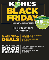 kohl s black friday deals best discounts on tvs gaming toys more