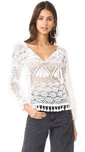 crochet blouses place nationale kaftan crochet blouse shopbop