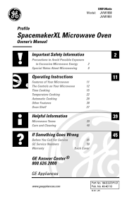 microwave oven users guides