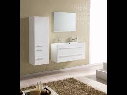 Wall Mounted Bathroom Cabinet by Kwadro Wall Mounted Bathroom Cabinet And Basin Youtube
