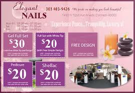 coupon elegant nails nail salon in colorado nail salon 80002