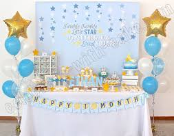 celebrate with cake twinkle twinkle little star dessert table